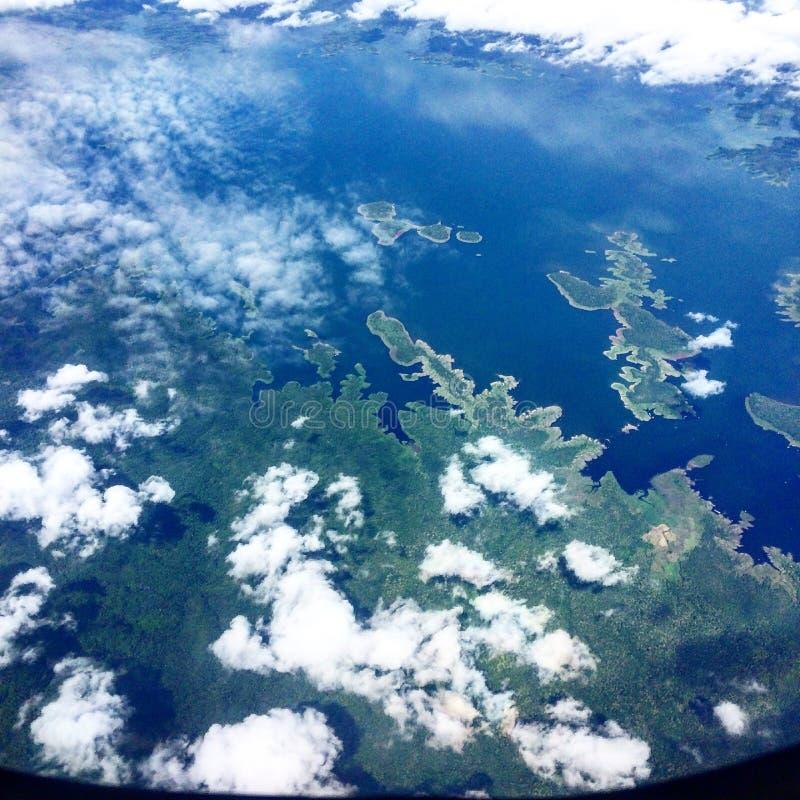 Der Himmel von nördlich von Thailand lizenzfreie stockfotos