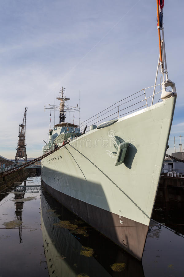 Der HMS-Kavalier lizenzfreie stockbilder