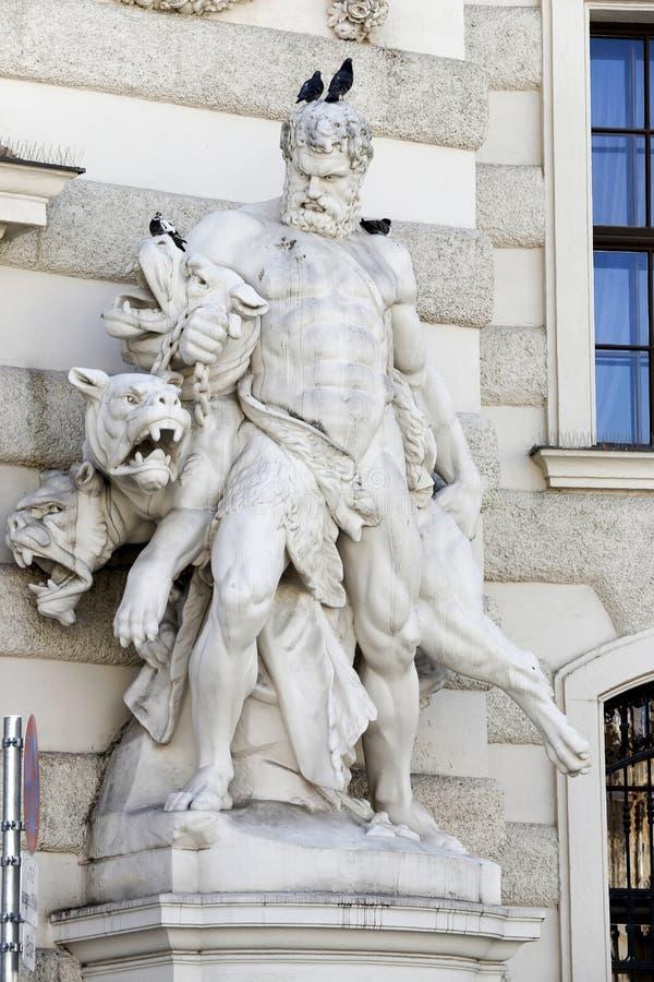 Der Hofburg-Palast in Wien lizenzfreie stockfotografie