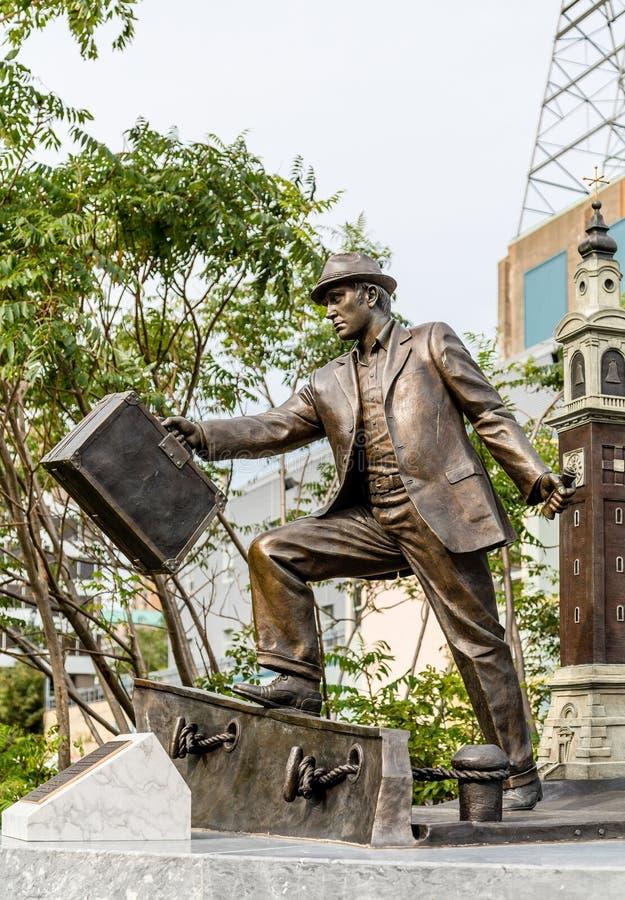 Der Immigrant in Halifax lizenzfreies stockfoto