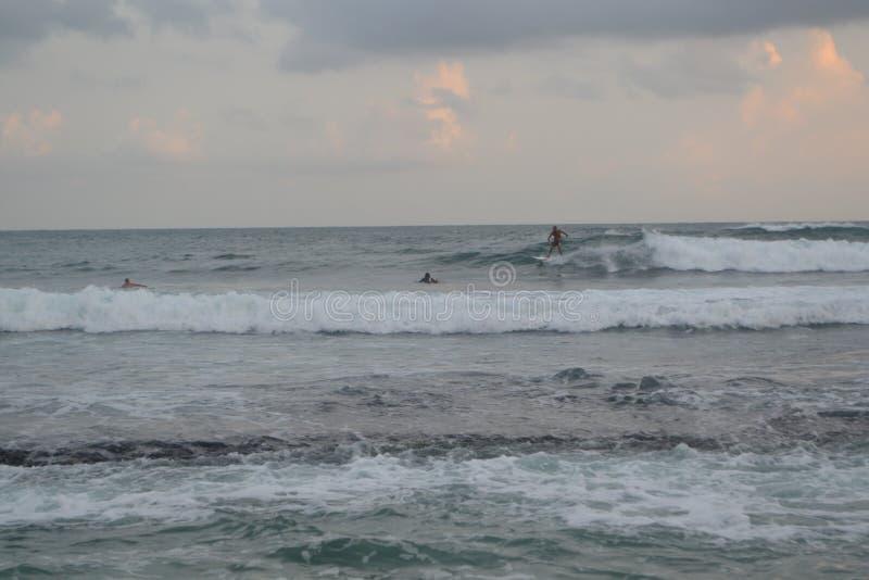 Der Indische Ozean lizenzfreies stockfoto