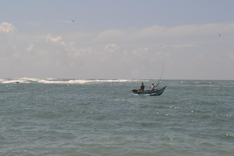 Der Indische Ozean stockfotografie