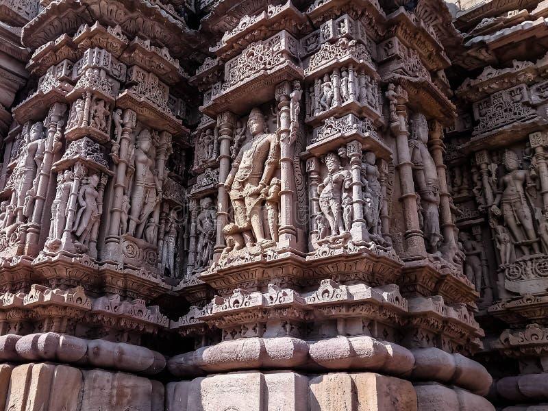 Der indischen reine Kunst Kultur-Abflussrinne des Gefühls stockbild