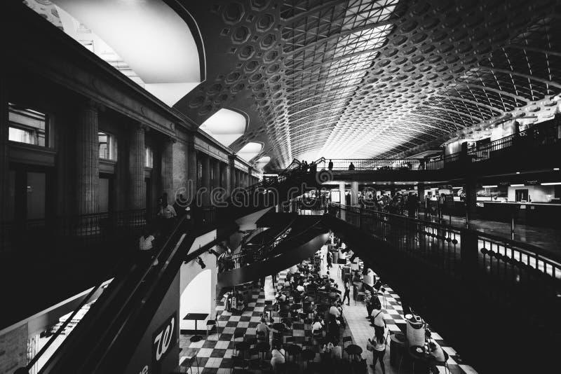 Der Innenraum der Verbands-Station, in Washington, DC lizenzfreie stockfotografie