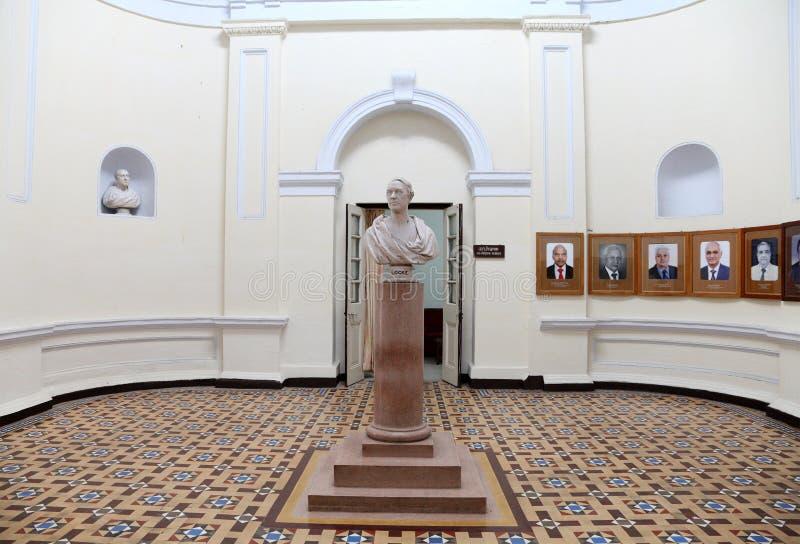 Der Innenraum des Verwaltungsgebäudes von IIT Roorkee lizenzfreies stockbild