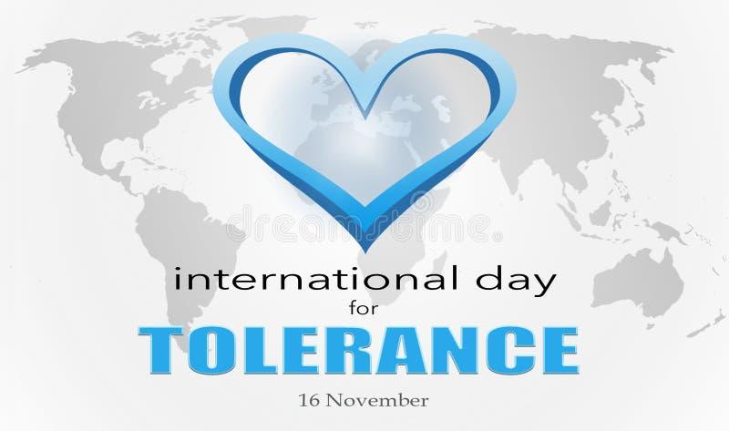 Der internationale Tag für Toleranz lizenzfreie stockfotografie