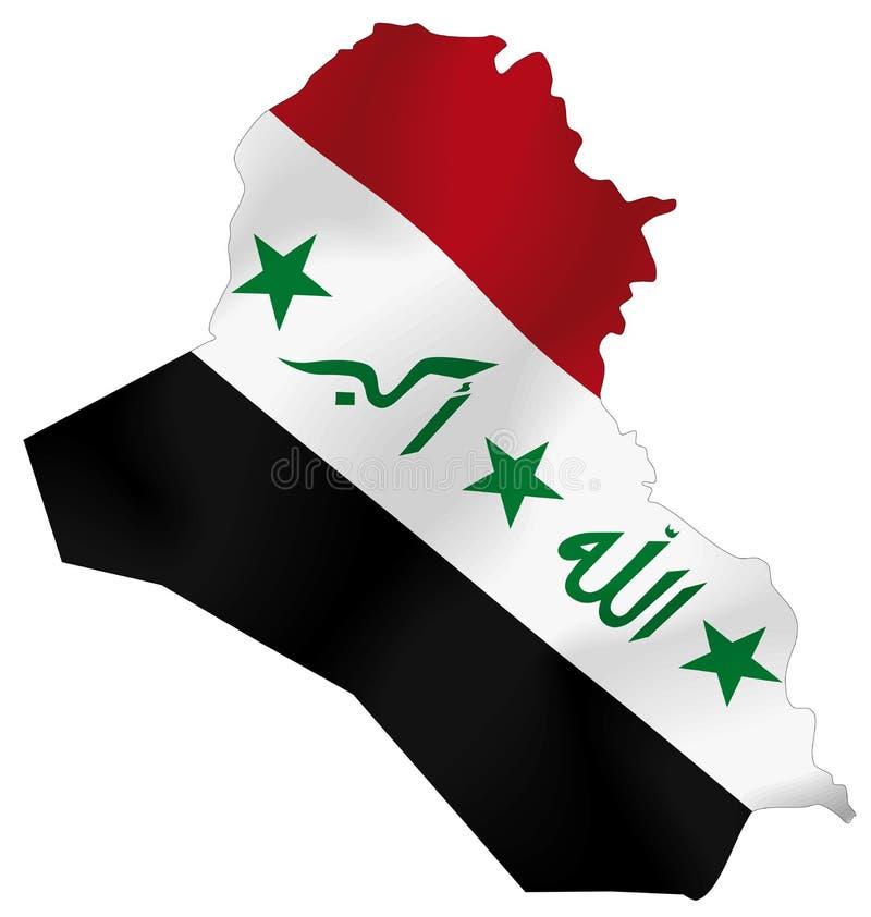 Der Irak stock abbildung