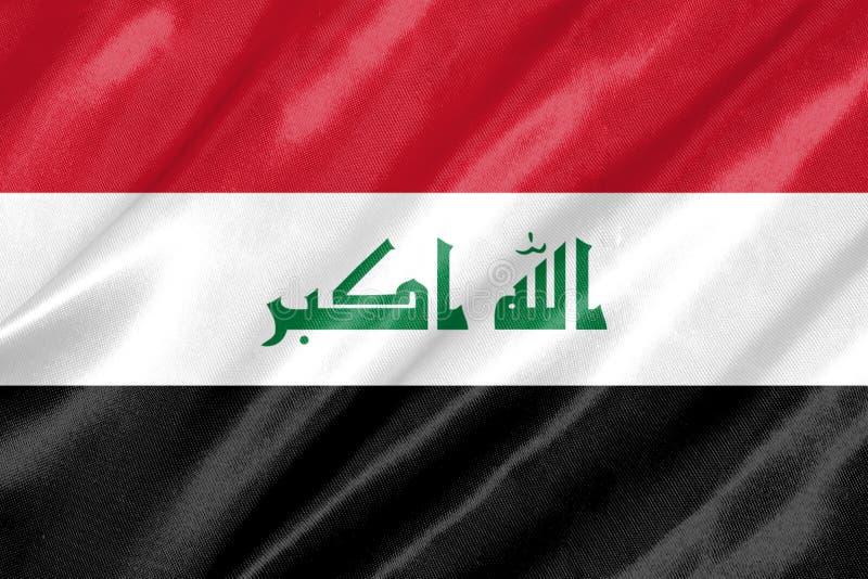 Der Irak-Markierungsfahne vektor abbildung