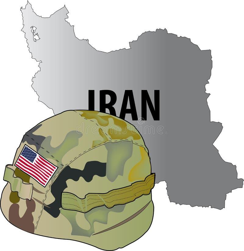 Der Iran-Krieg lizenzfreies stockfoto