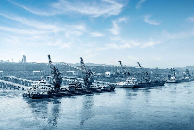 Der Jangtse-Pier stockbild