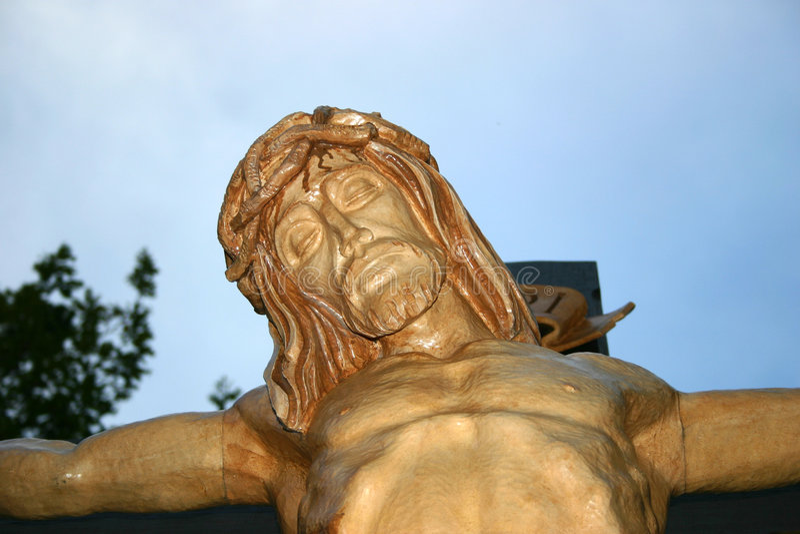 Der Jesus 02 stockbild
