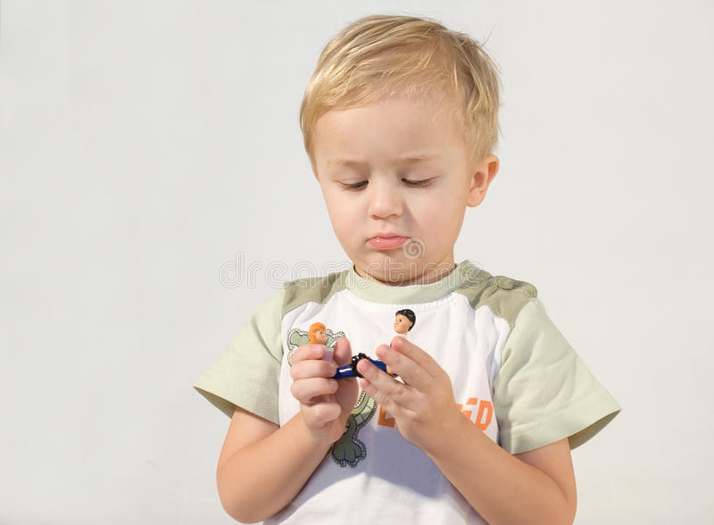 Der Junge. lizenzfreie stockfotos