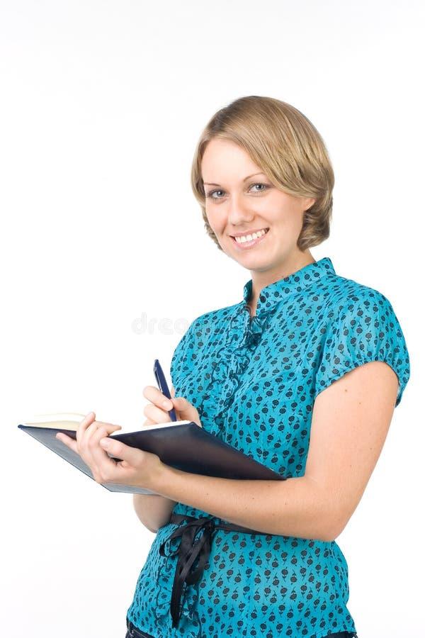 Der junge Angestellte lizenzfreies stockbild