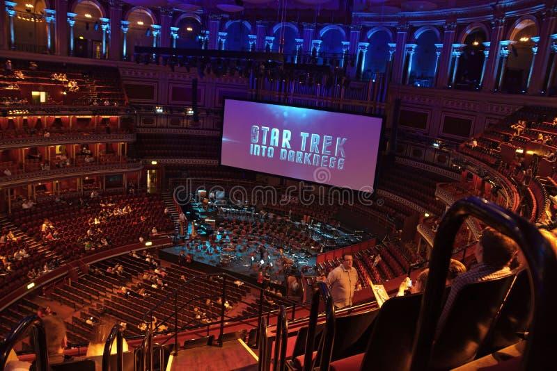 Der königliche Albert Hall lizenzfreies stockfoto