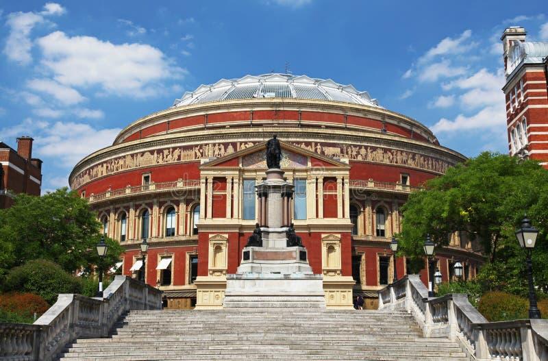 Der königliche Albert Hall in London lizenzfreies stockfoto