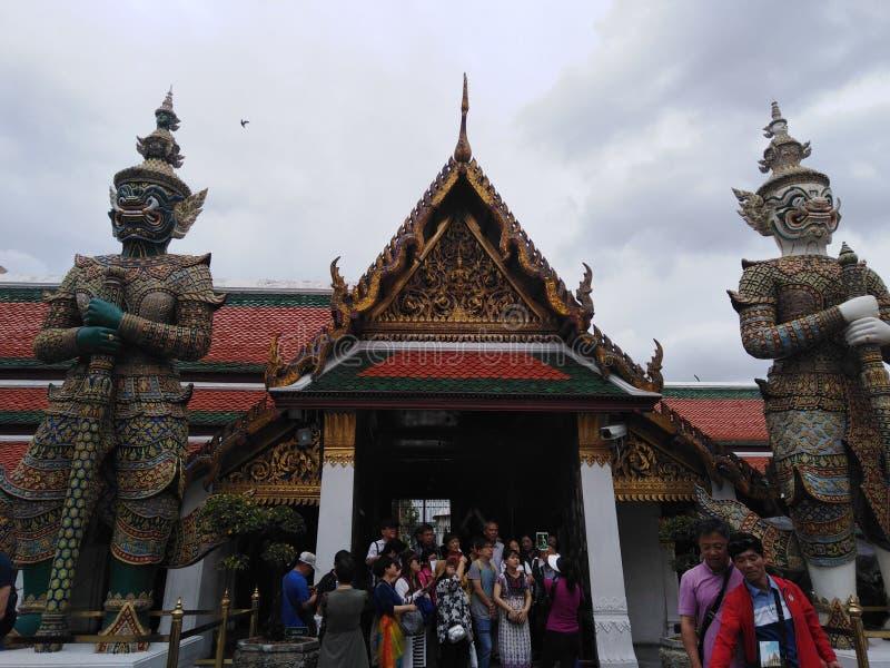 Der königliche Palast in Bangkok stockfotografie