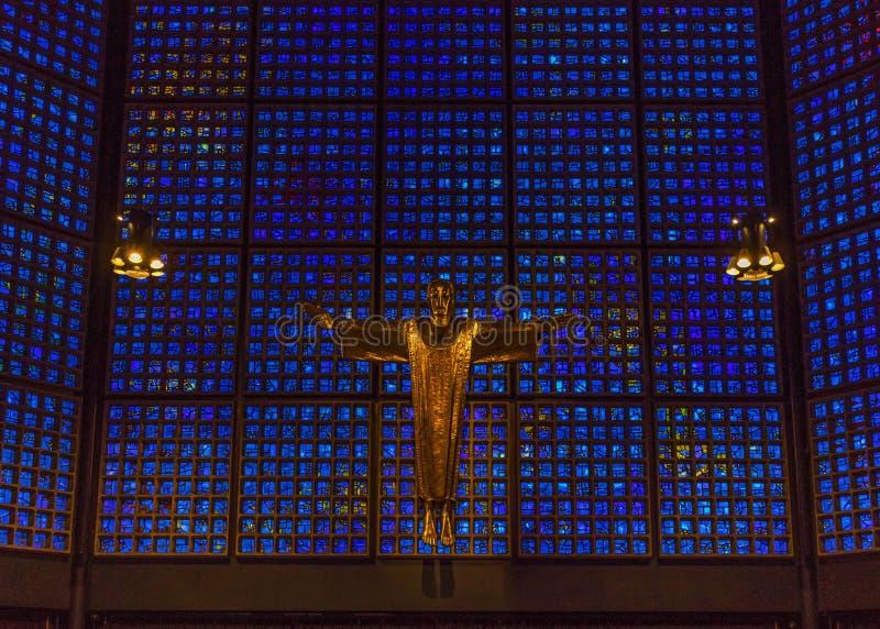 Der Kaiser Wilhelm Church von Berlin lizenzfreie stockfotos