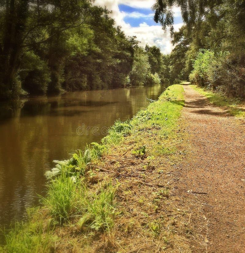 Der Kanal stockfoto