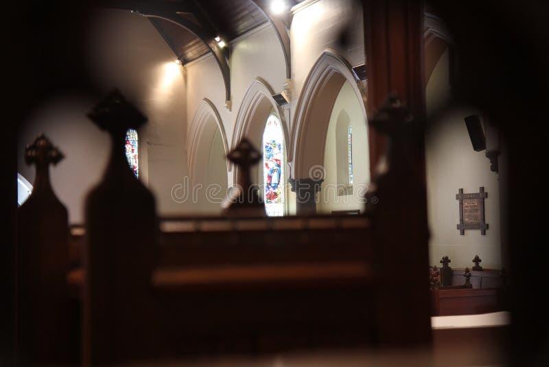 An der Kirche lizenzfreies stockfoto