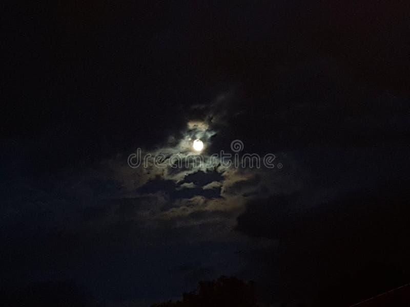 der kleine Mond lizenzfreies stockbild