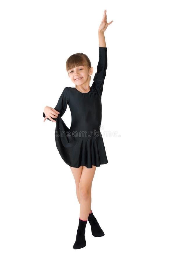 Der kleine Tänzer stockfoto