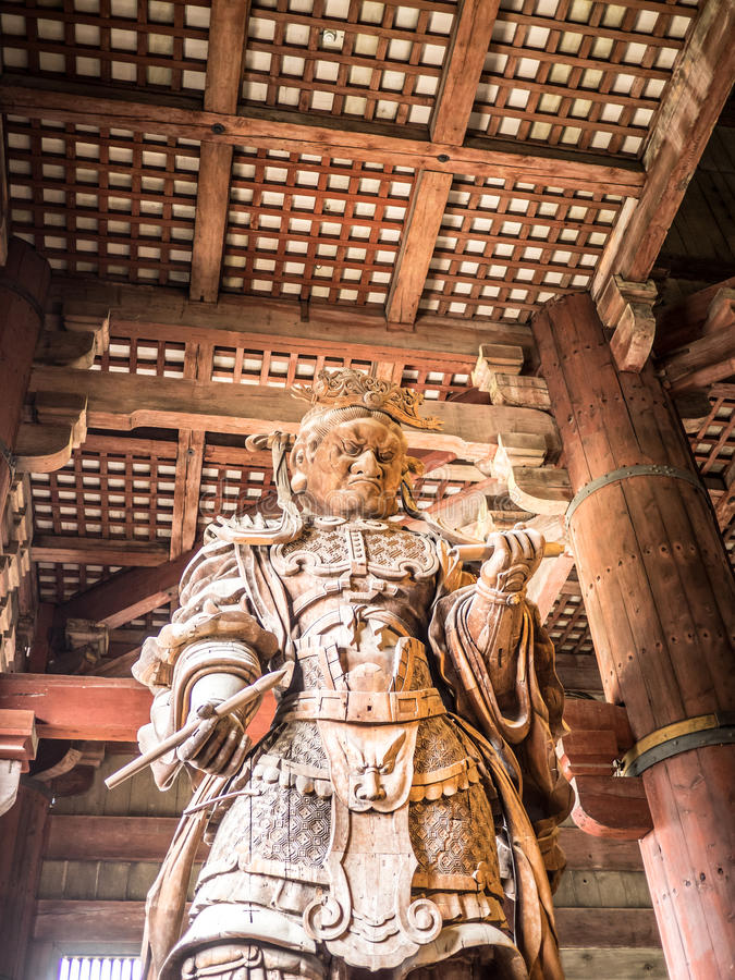 Der Komokuten-Wächter stockbild