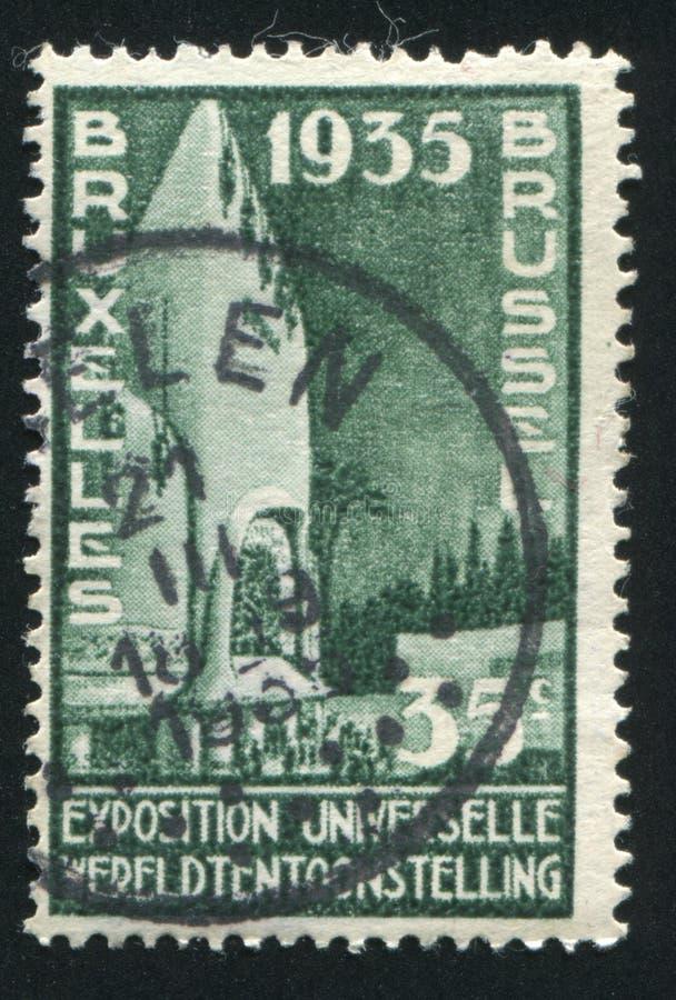 Der Kongo-Pavillon lizenzfreies stockfoto