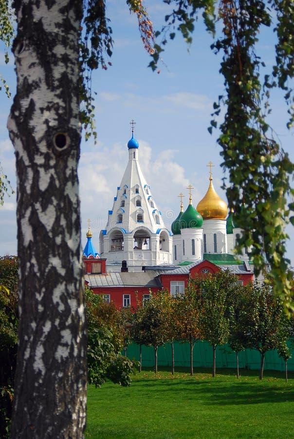 Der Kreml in Kolomna, Russland lizenzfreie stockfotografie