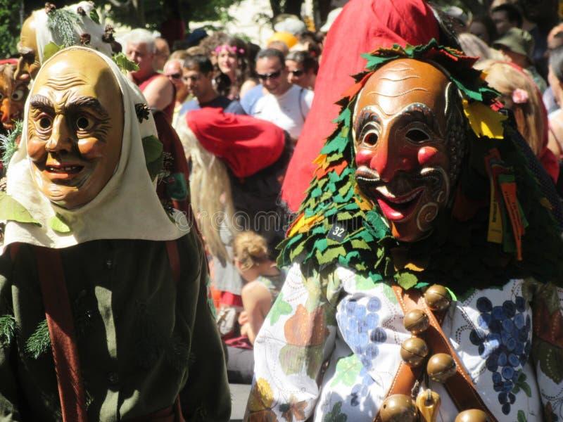 Der Kulturen de Karneval fotografia de stock