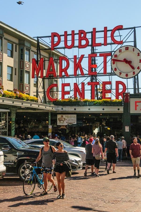 Der Landwirt-Markt in Seattle lizenzfreies stockfoto