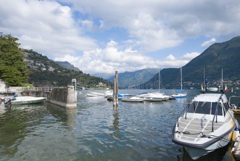 Cernobbio, See von Como, Italien lizenzfreie stockbilder