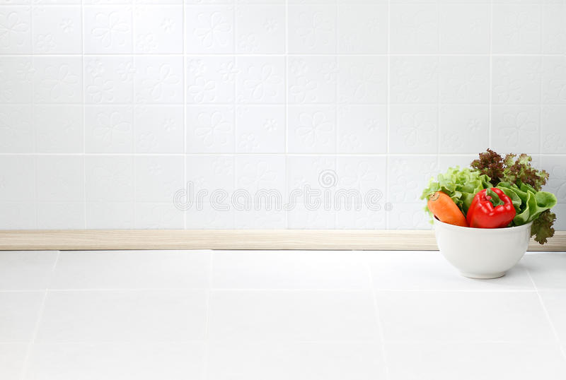 Der leere Platz in der Küche lizenzfreies stockbild