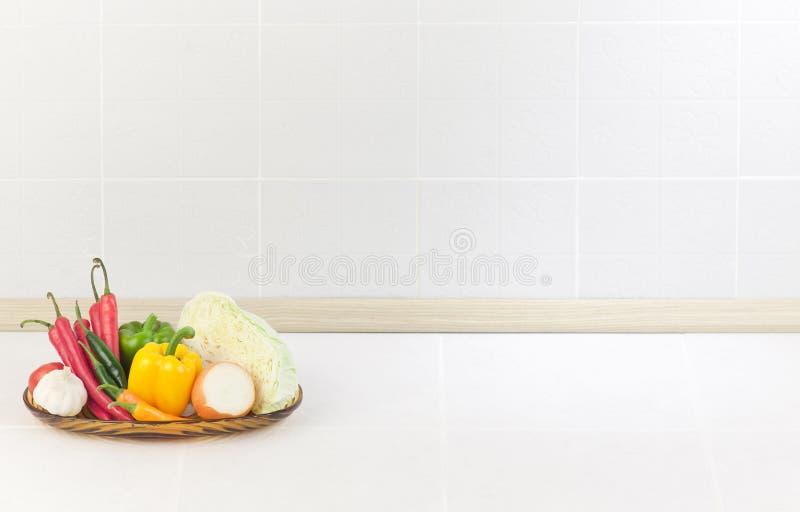 Der leere Platz in der Küche stockbilder