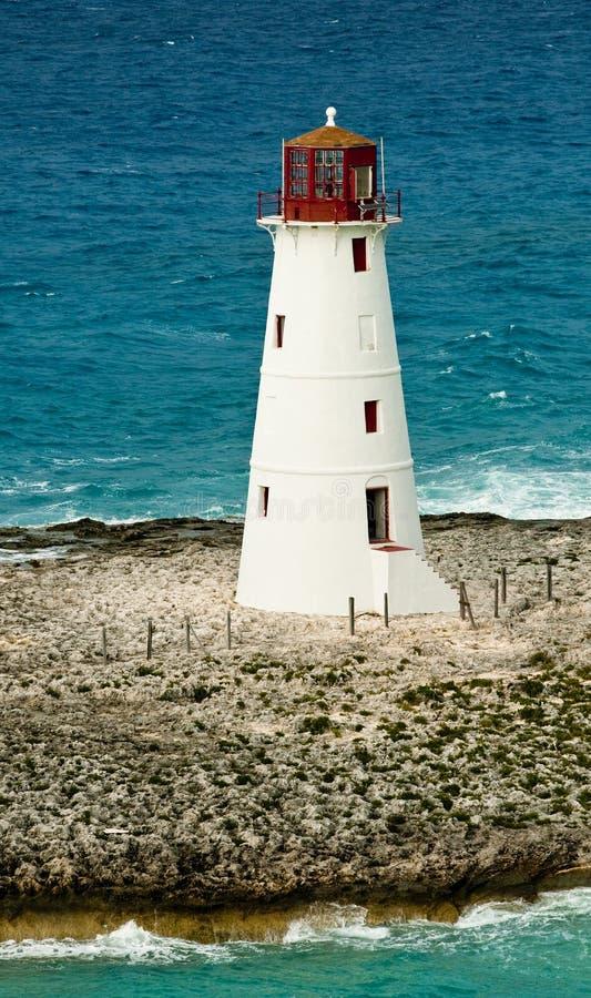 Der Leuchtturm in Nassau lizenzfreie stockfotos