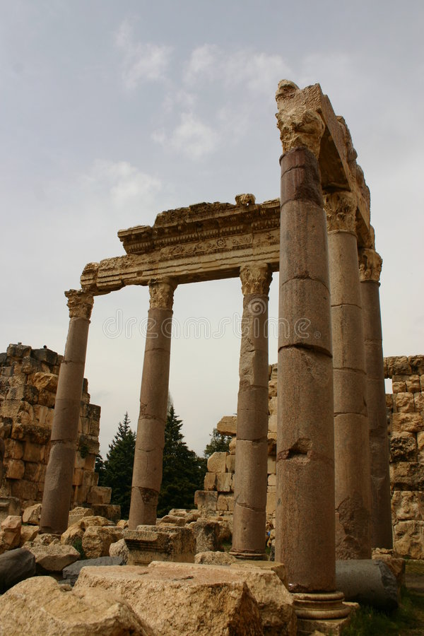 Der Libanon lizenzfreie stockfotografie