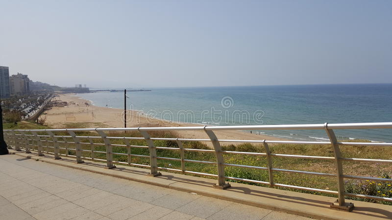 Der Libanon-Ufer lizenzfreies stockfoto