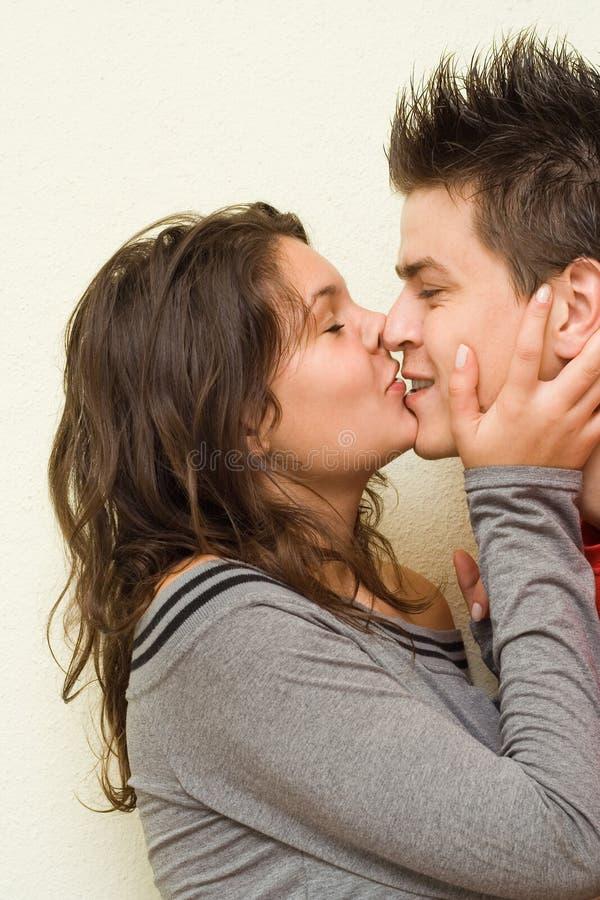In der Liebe - Glück lizenzfreie stockfotos