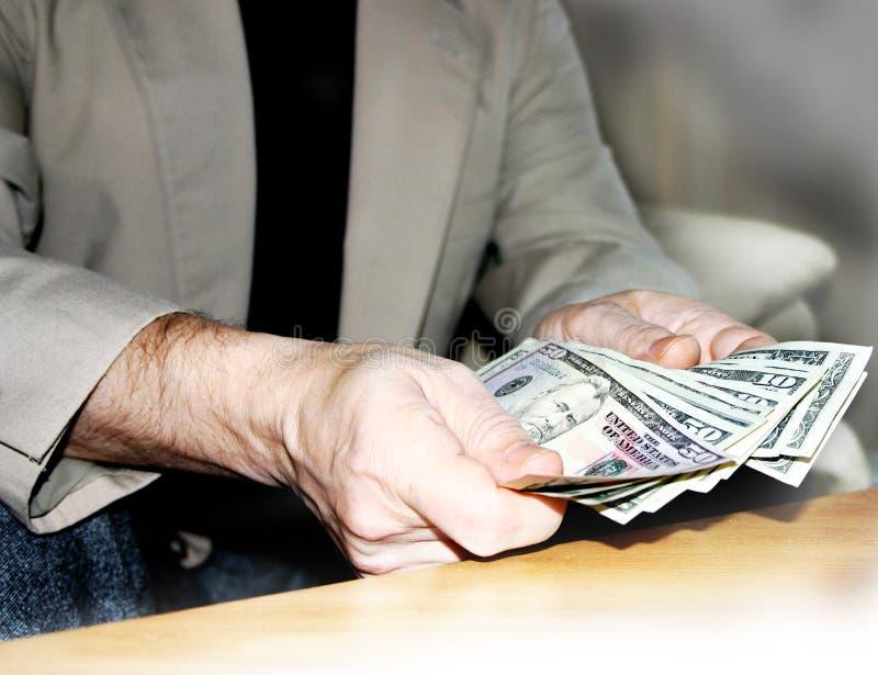 In der Liebe mit Geld stockfoto