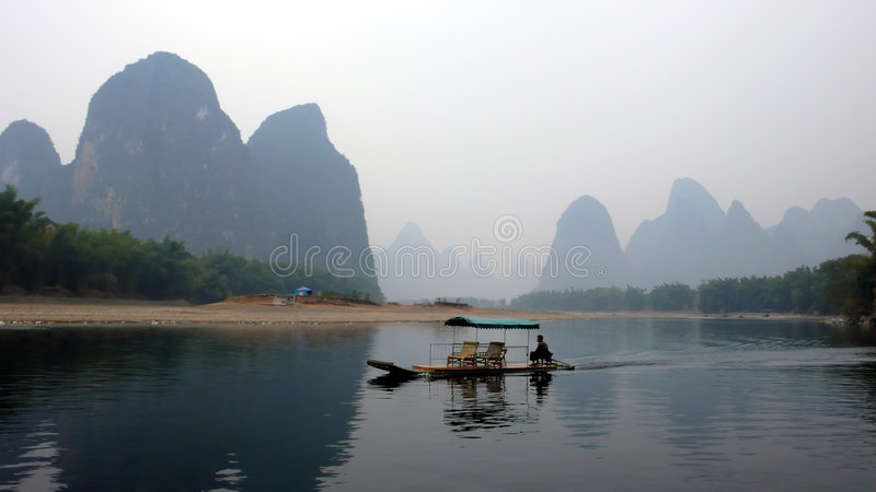 Der Lijiang Fluss stockfoto