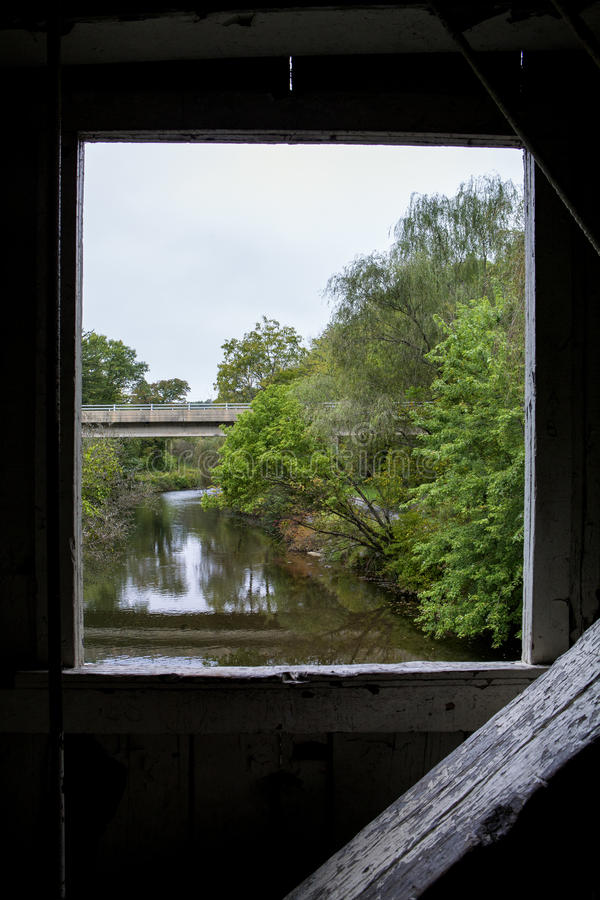 Der Little Lehigh Fluss lizenzfreie stockbilder