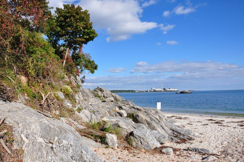 Der Long-Island-Sund stockbilder