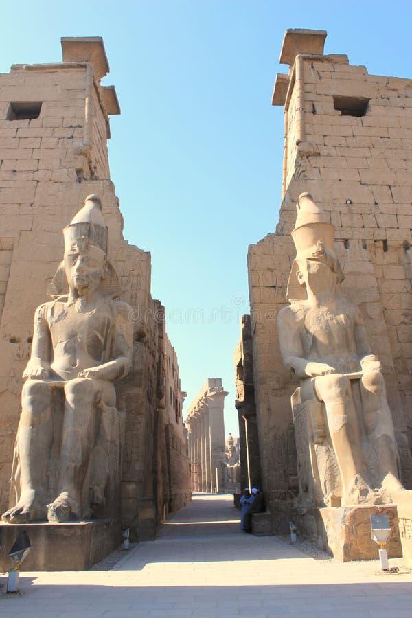 Der Luxor-Tempel stockbild