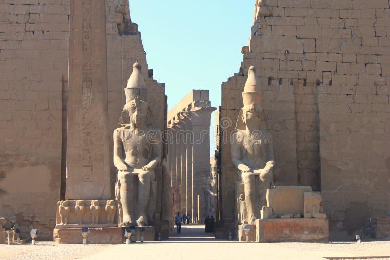 Der Luxor-Tempel stockfotografie