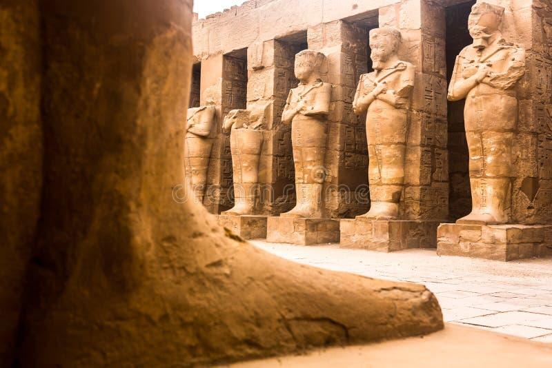 Der Luxor-Tempel, Karnak, Ägypten stockfoto