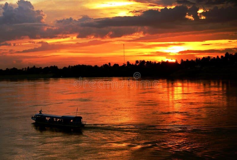 Der Mekong stockfoto