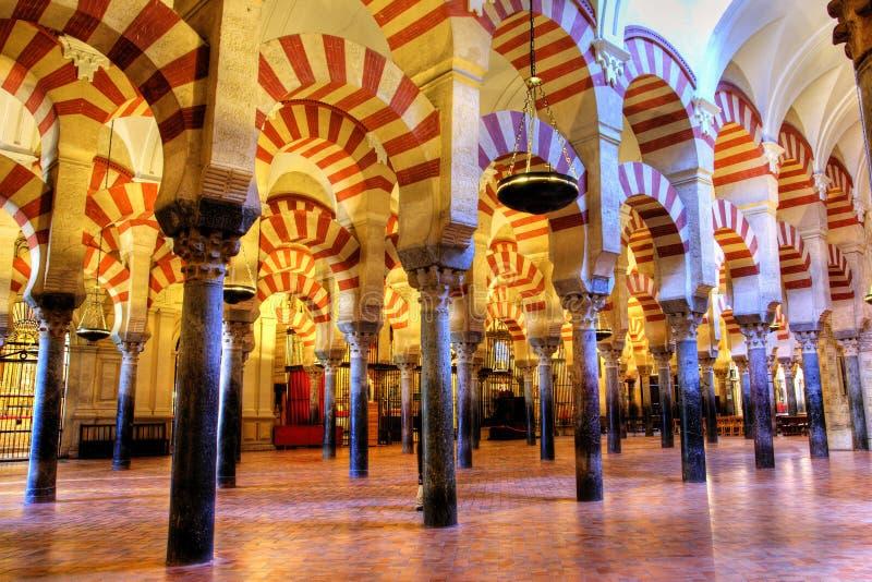 Der Mezquita. lizenzfreies stockbild