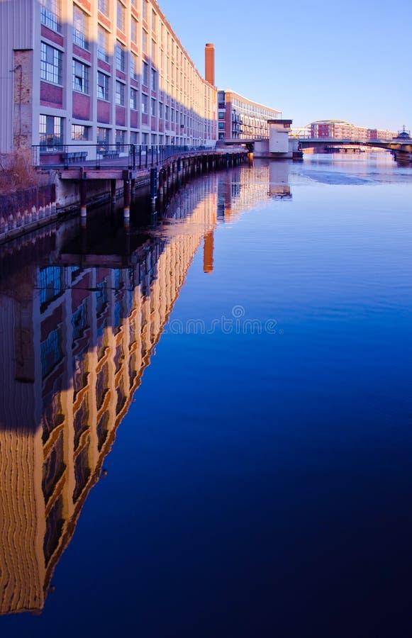 Der milwaukee-Fluss stockfotos