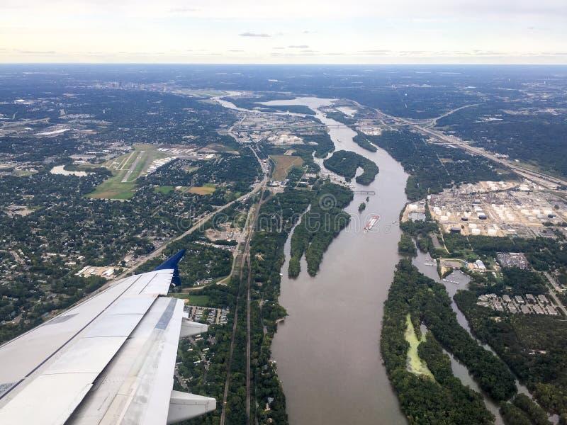 Der Missouri lizenzfreie stockfotos