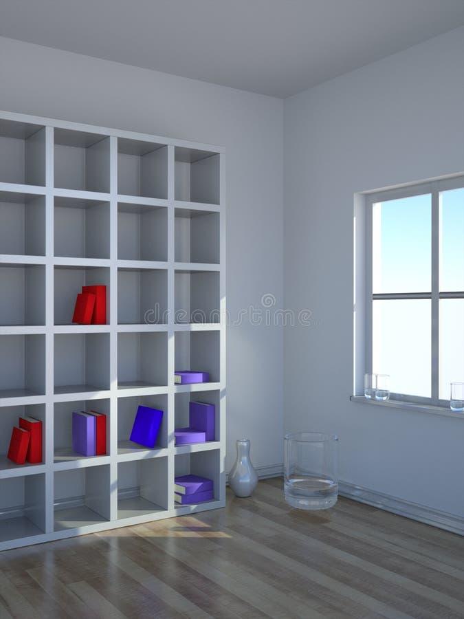 Der moderne Innenraum 2 lizenzfreie abbildung