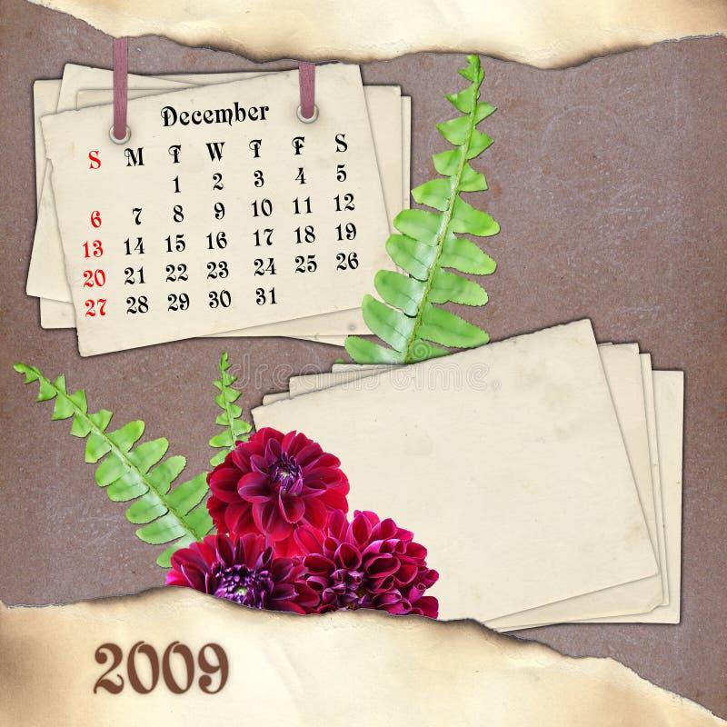 Der Monat Dezember. vektor abbildung